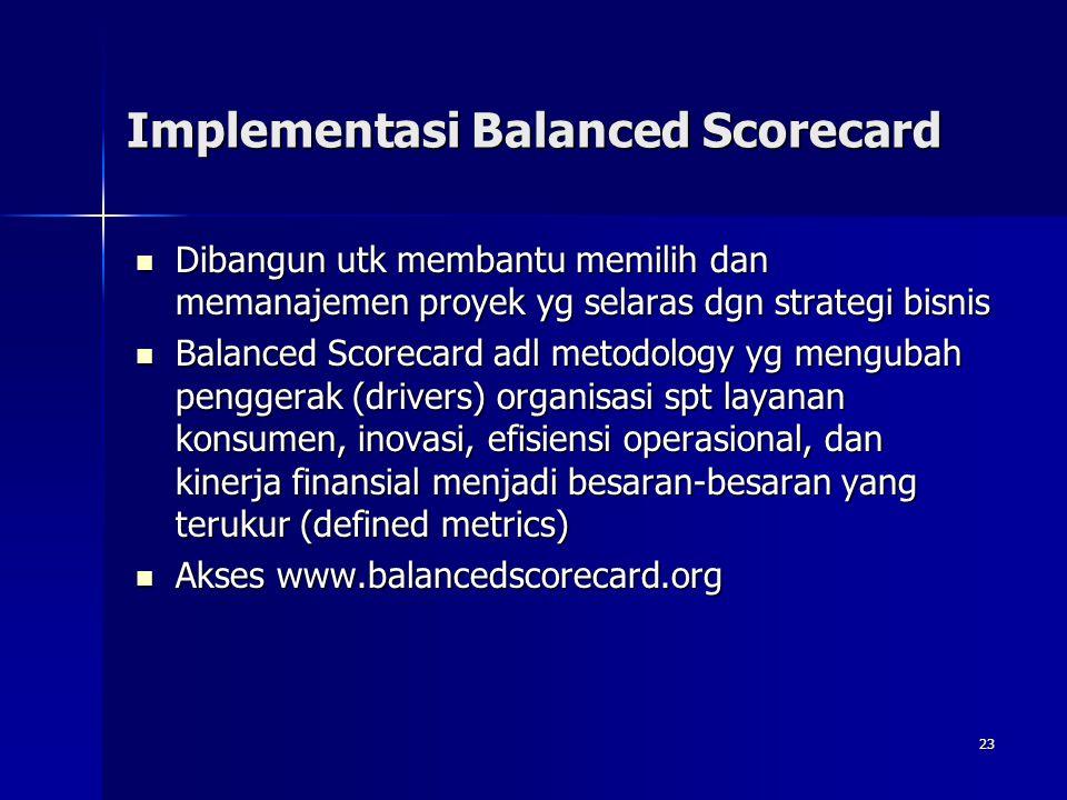 Implementasi Balanced Scorecard