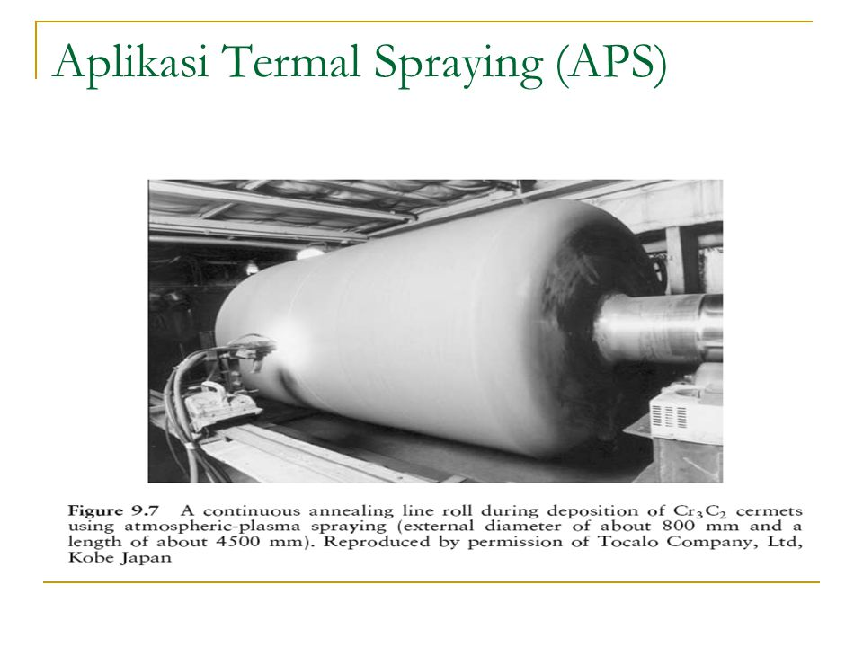 Aplikasi Termal Spraying (APS)