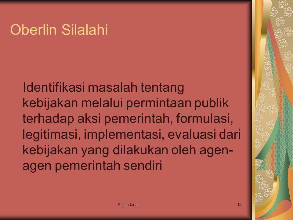 Oberlin Silalahi