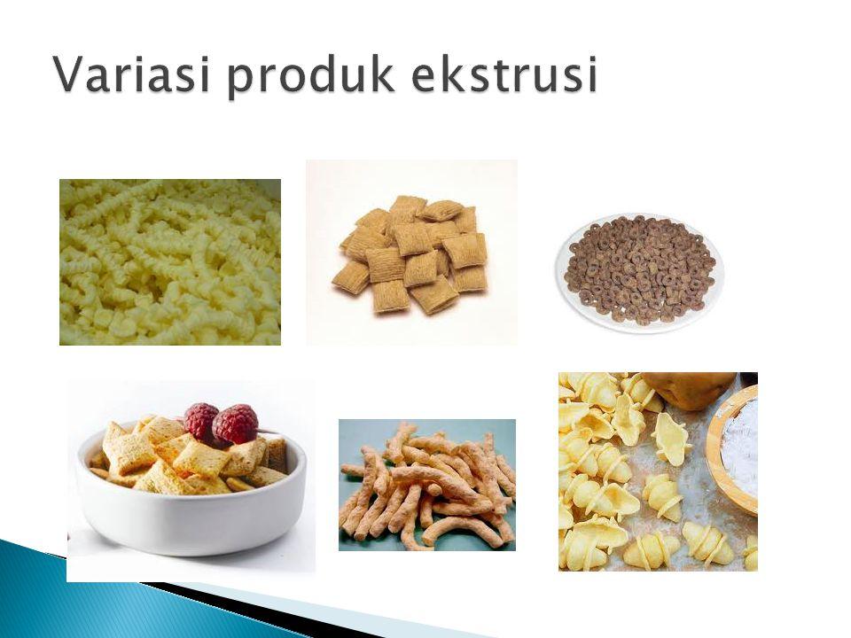 Variasi produk ekstrusi