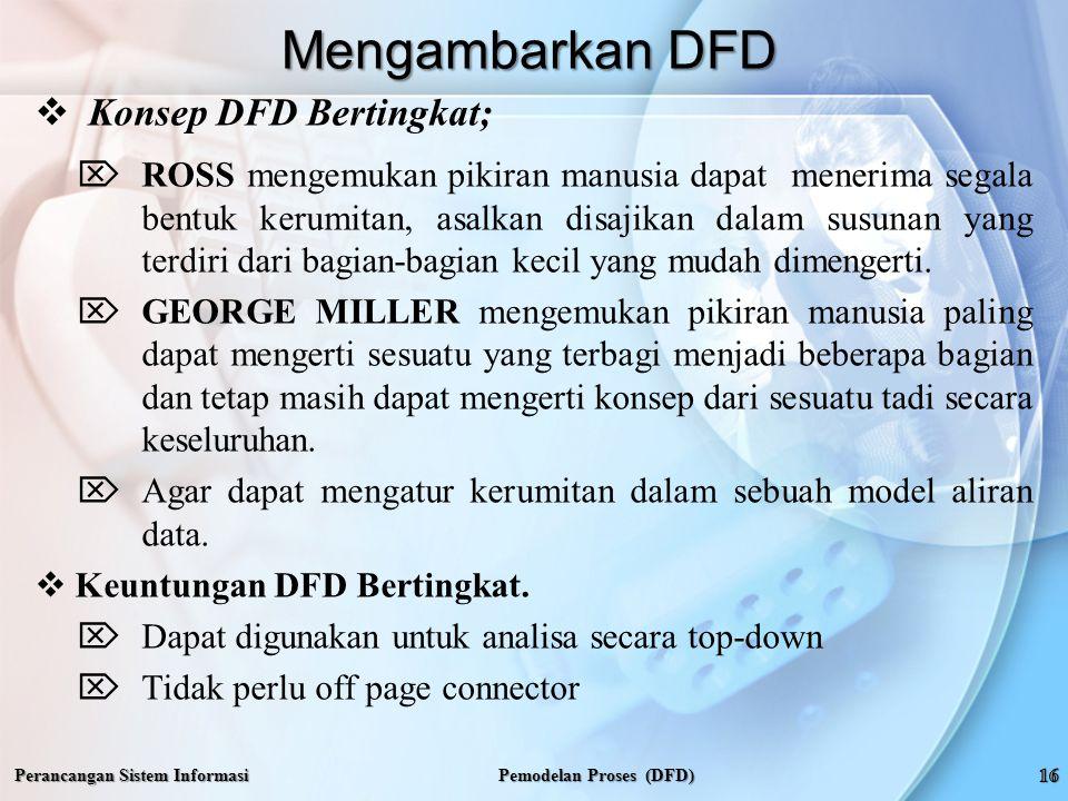 Pemodelan Proses (DFD)