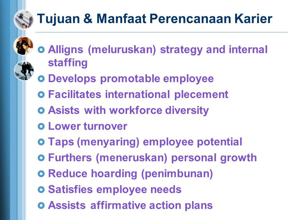 Tujuan & Manfaat Perencanaan Karier