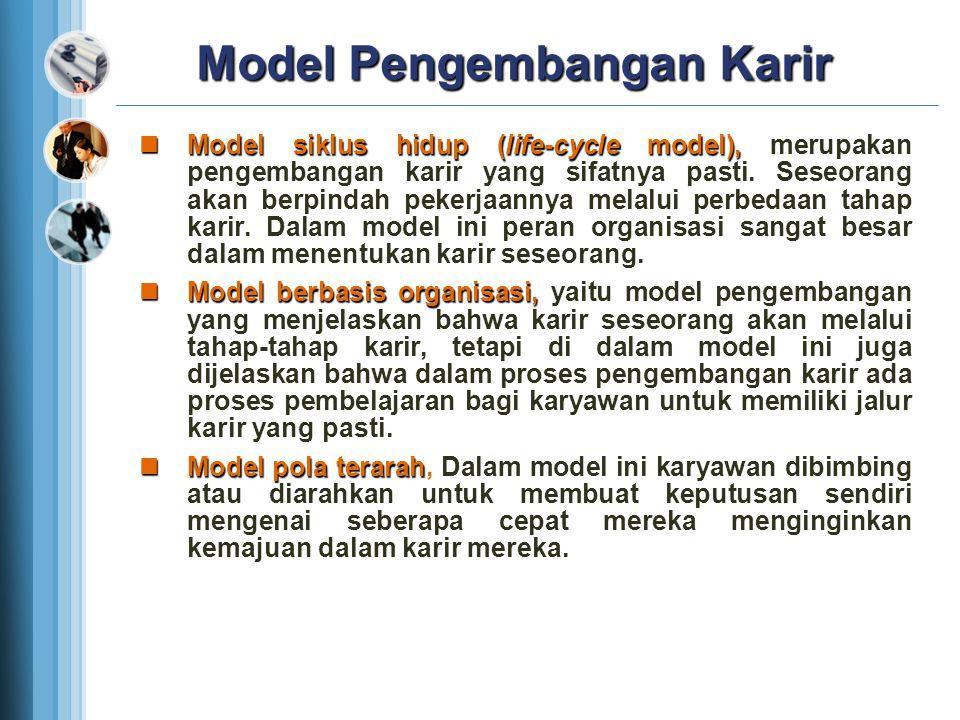 Model Pengembangan Karir