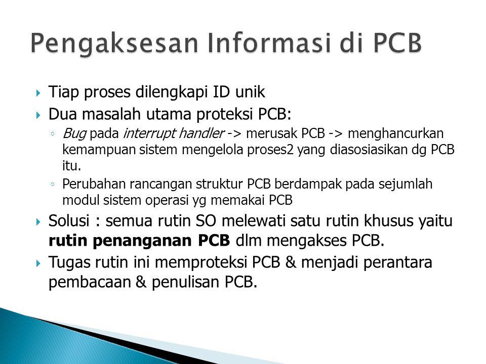 Pengaksesan Informasi di PCB
