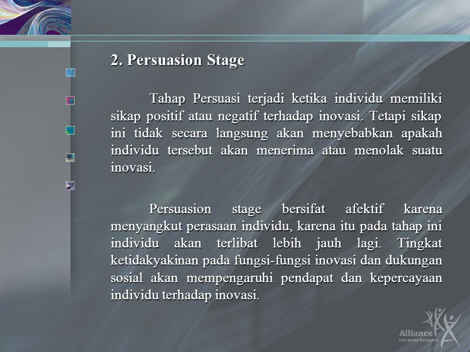2. Persuasion Stage
