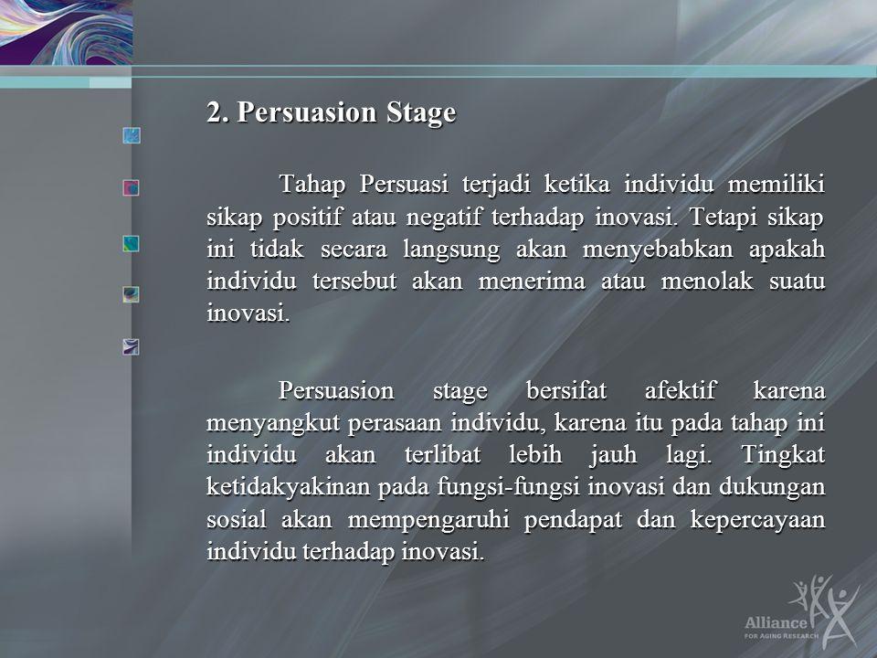 2. Persuasion Stage