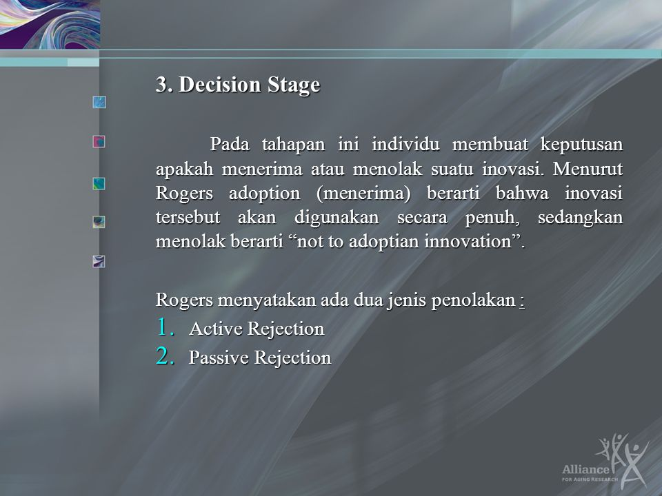 3. Decision Stage