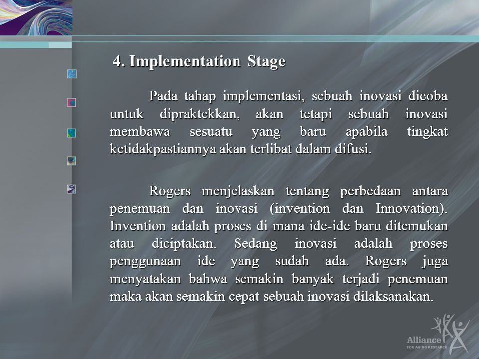 4. Implementation Stage
