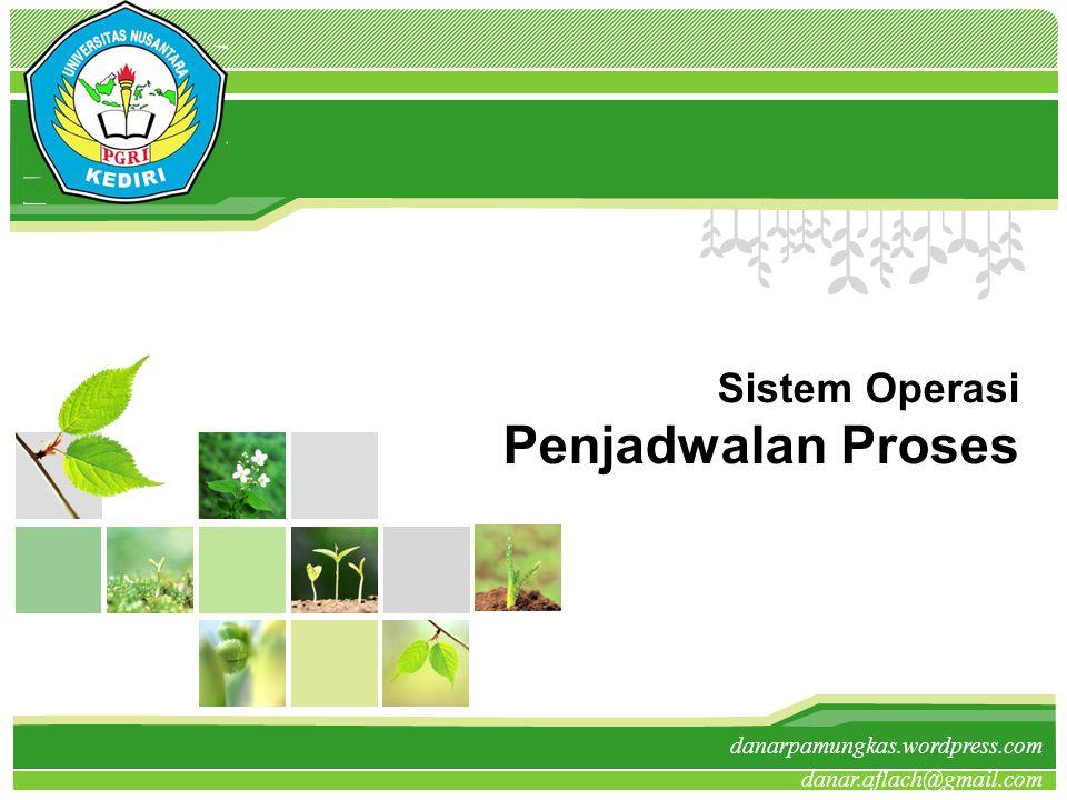 Sistem Operasi Penjadwalan Proses