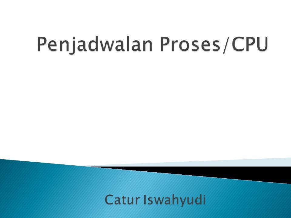 Penjadwalan Proses/CPU