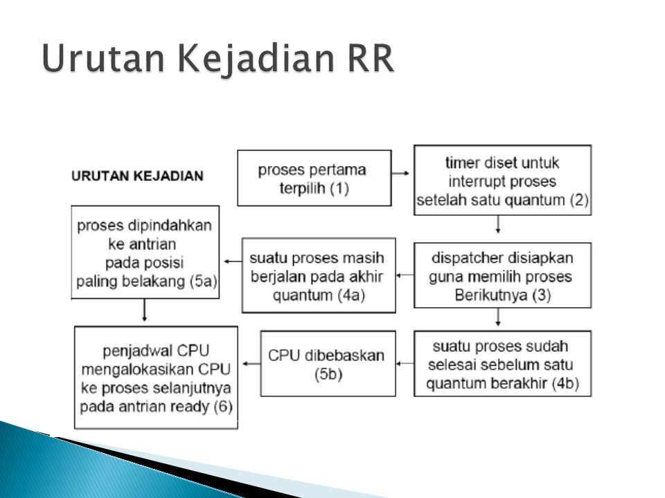 Urutan Kejadian RR