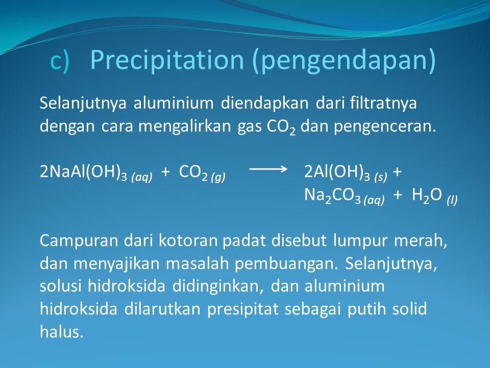 Precipitation (pengendapan)
