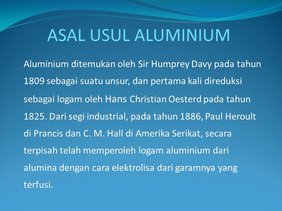ASAL USUL ALUMINIUM