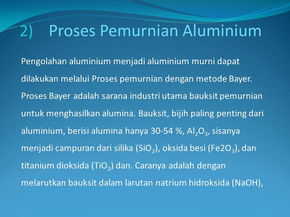 Proses Pemurnian Aluminium