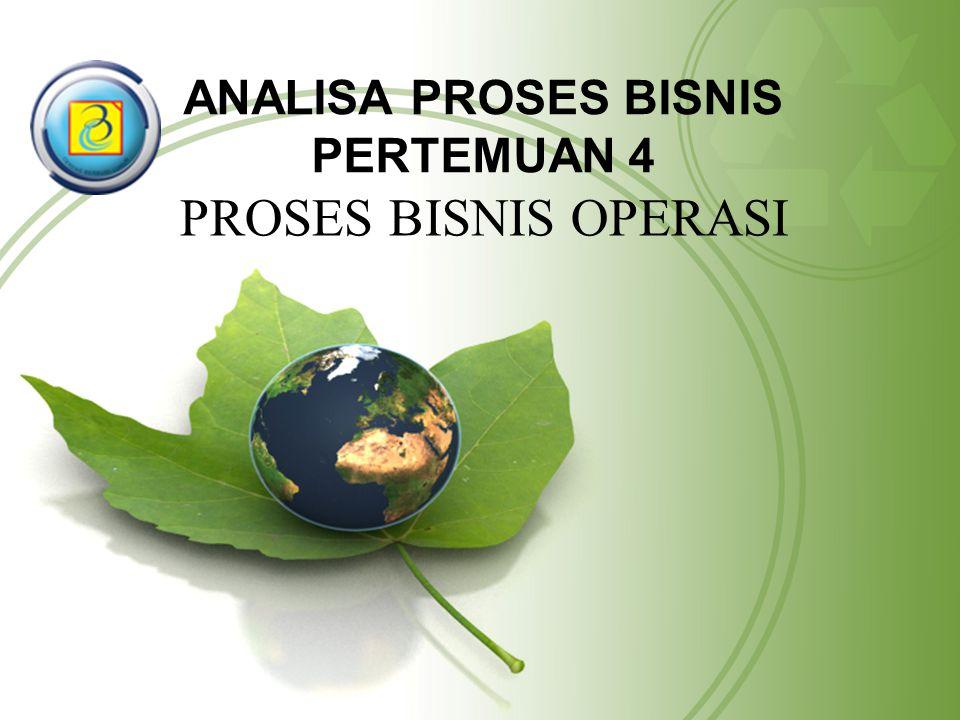 ANALISA PROSES BISNIS PERTEMUAN 4