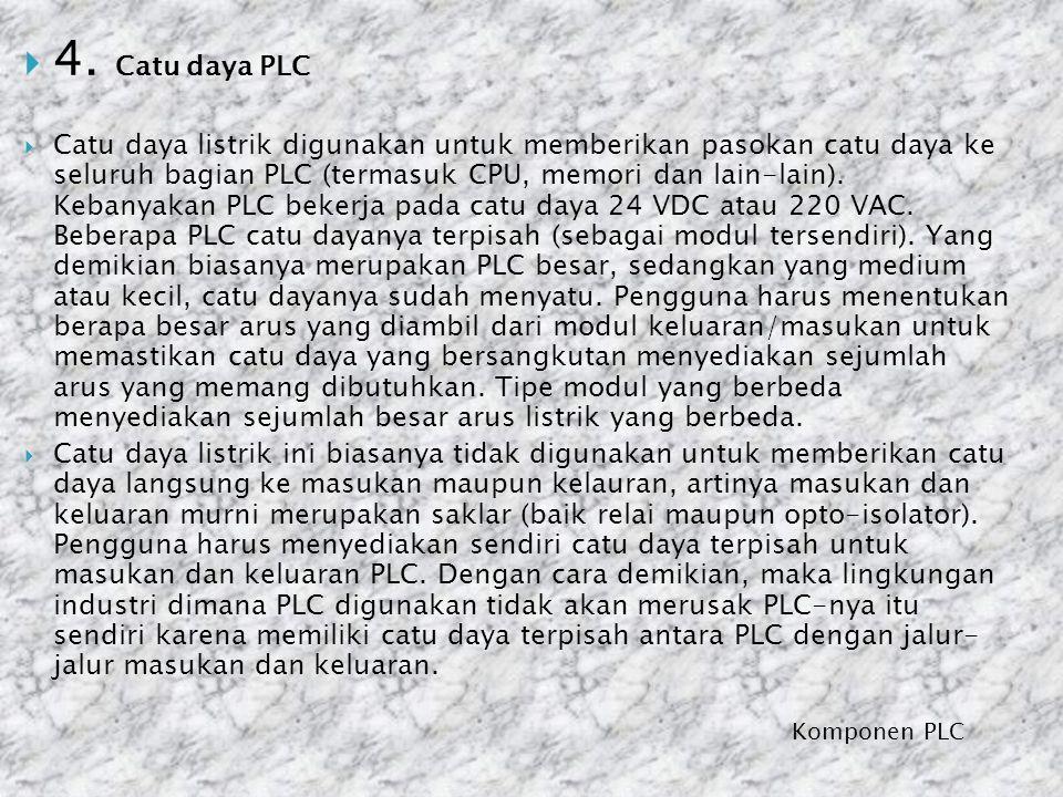 4. Catu daya PLC