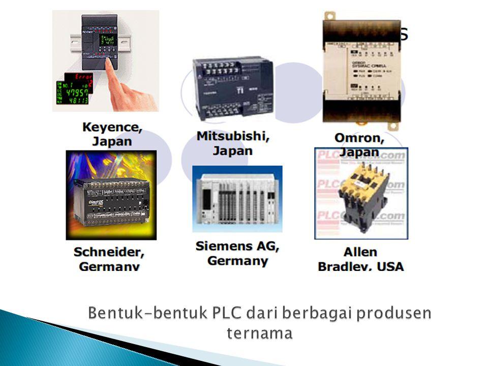 Bentuk-bentuk PLC dari berbagai produsen ternama