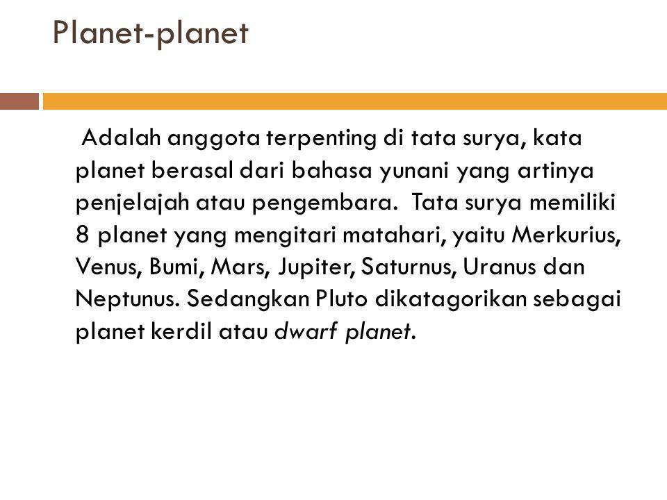 Planet-planet