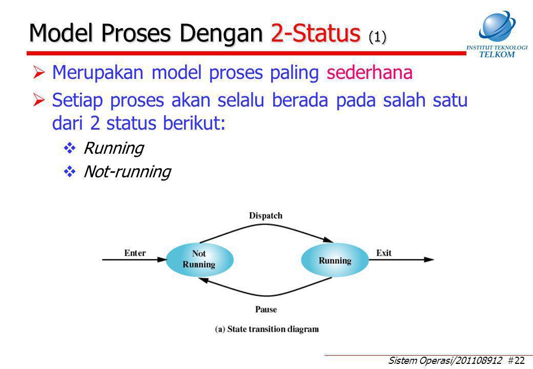 Model Proses Dengan 2-Status (2)