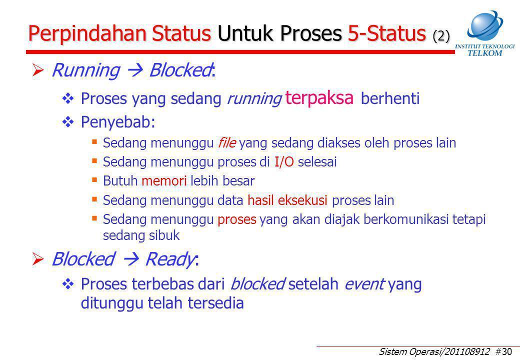 Perpindahan Status Untuk Proses 5-Status (3)