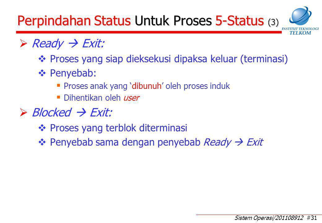 Eksekusi Proses Dengan Dua Antrian (1)