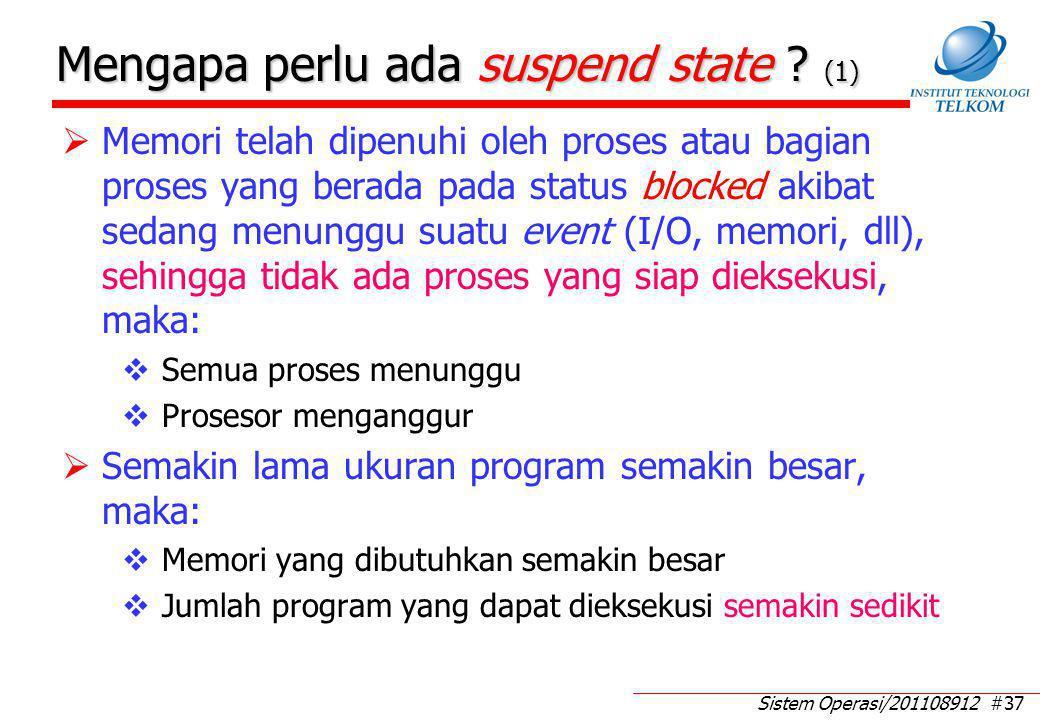 Mengapa perlu ada suspend state (2)