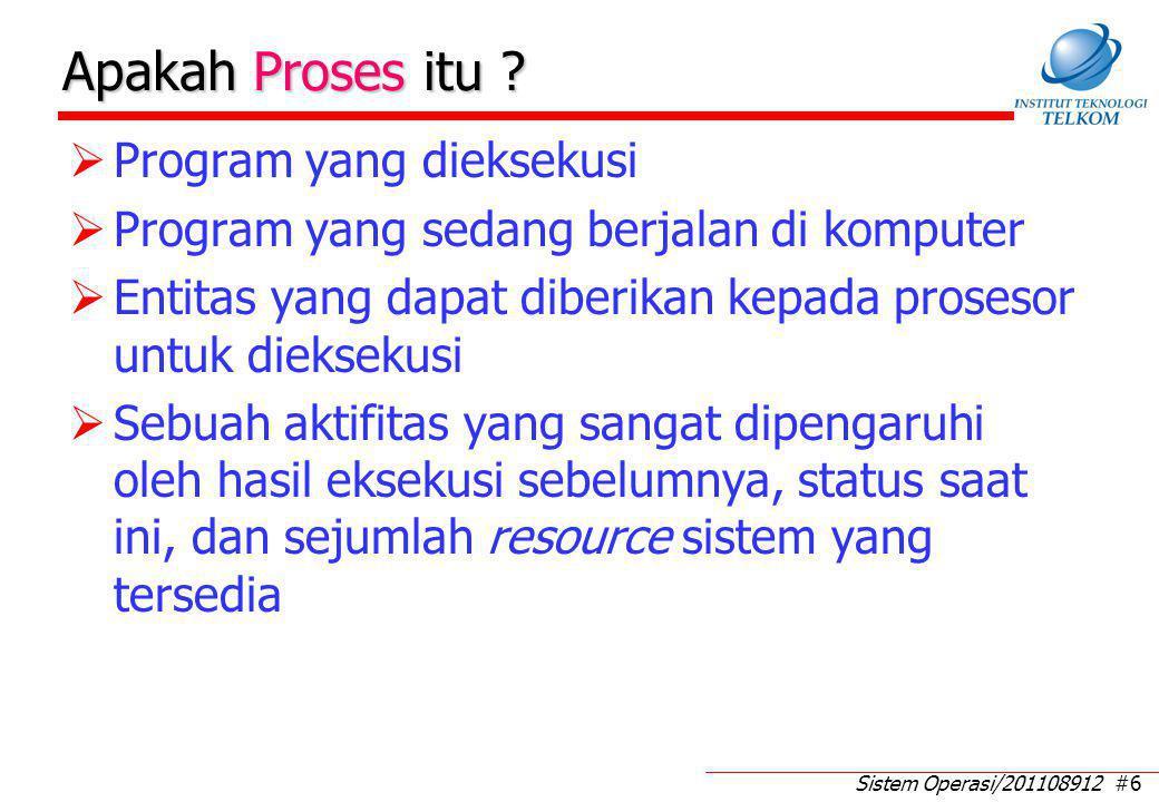 Apa Saja Elemen Proses yang Sedang Running (1)