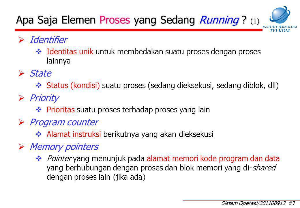 Apa Saja Elemen Proses yang Sedang Running (2)