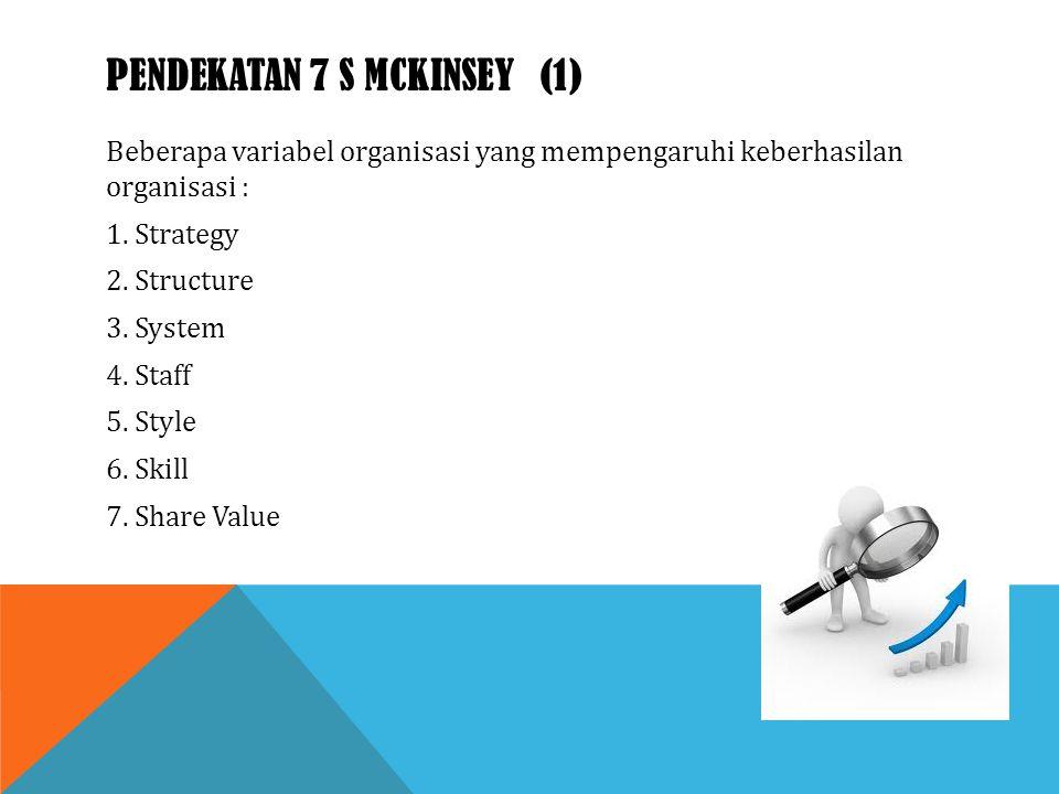 Pendekatan 7 S McKinsey (1)