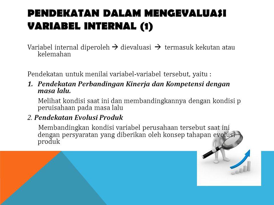 PENDEKATAN DALAM MENGEVALUASI VARIABEL INTERNAL (1)