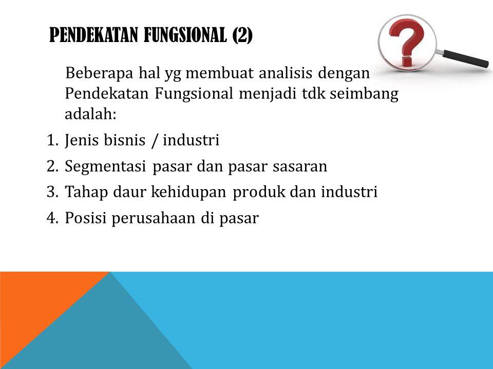 Pendekatan fungsional (2)