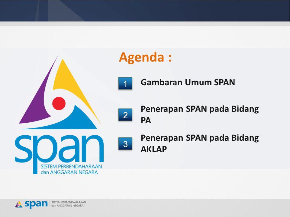 Agenda : Gambaran Umum SPAN Penerapan SPAN pada Bidang PA