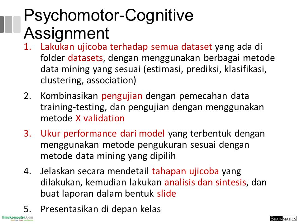 Psychomotor-Cognitive Assignment
