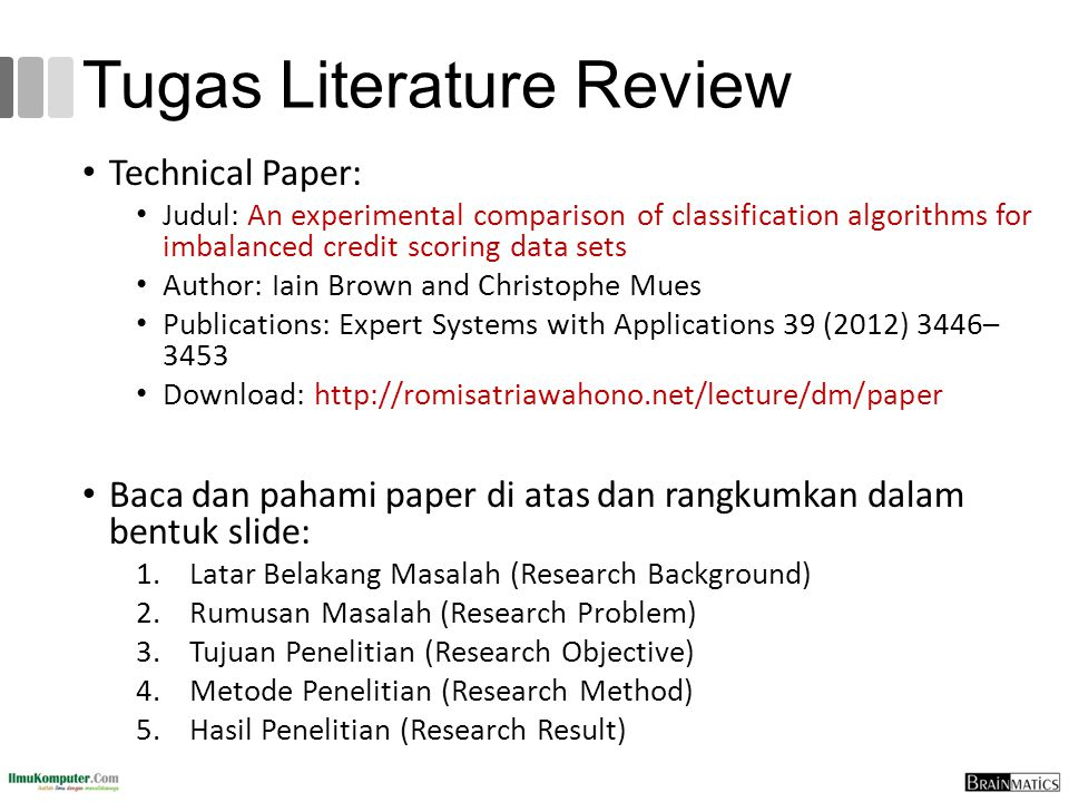 Tugas Literature Review