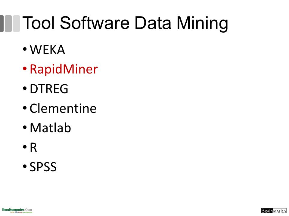 Tool Software Data Mining
