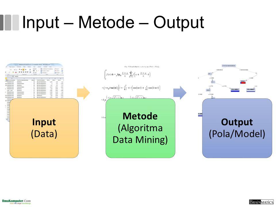Metode (Algoritma Data Mining)