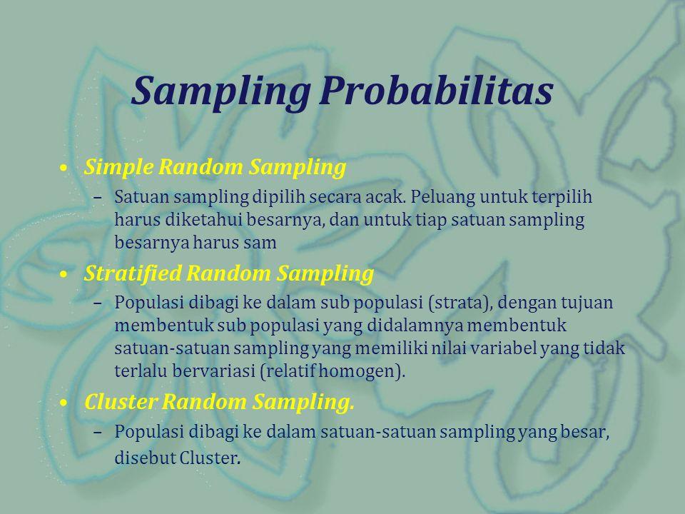 Sampling Probabilitas