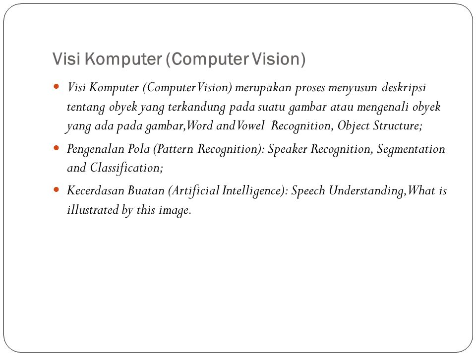 Visi Komputer (Computer Vision)