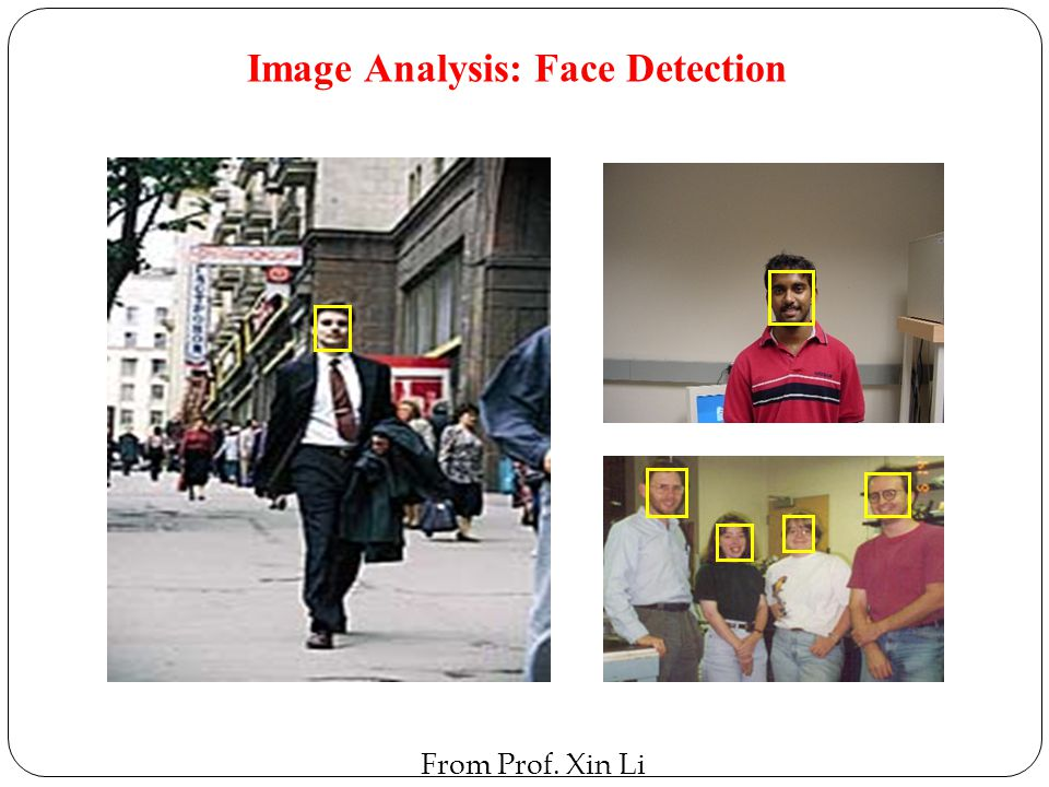 Image Analysis: Face Detection