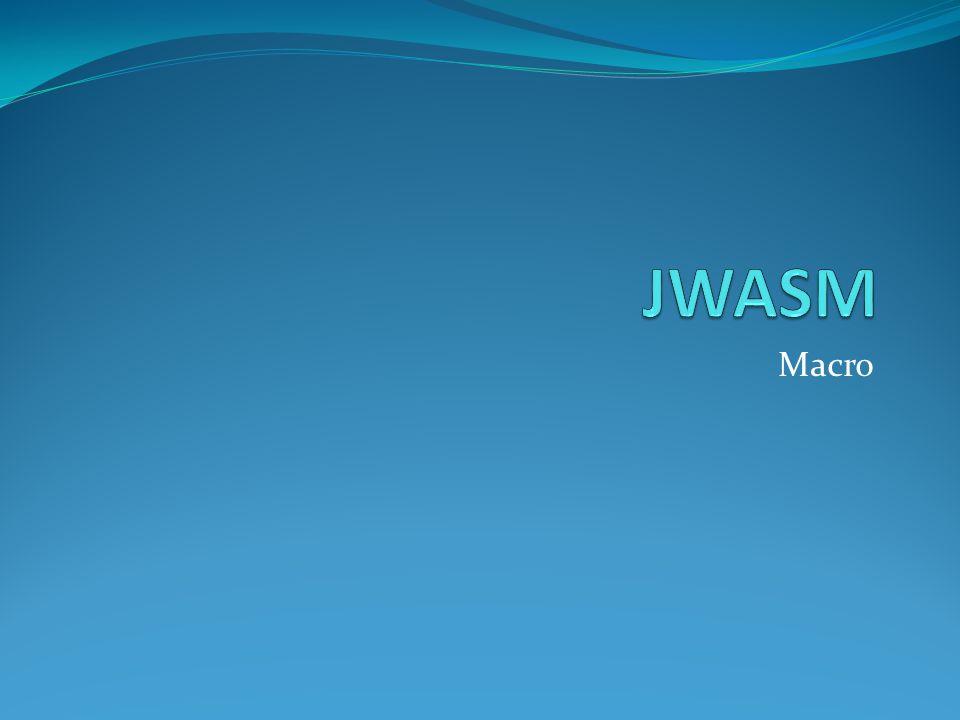 JWASM Macro