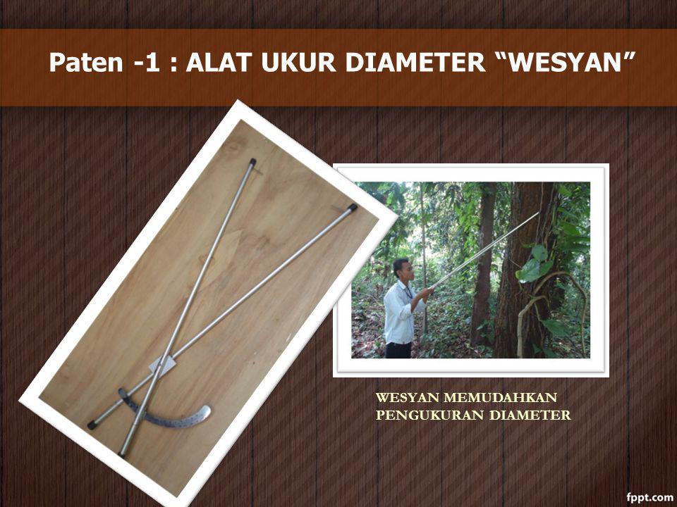 Paten -1 : ALAT UKUR DIAMETER WESYAN