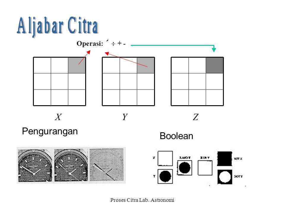 Proses Citra Lab. Astronomi