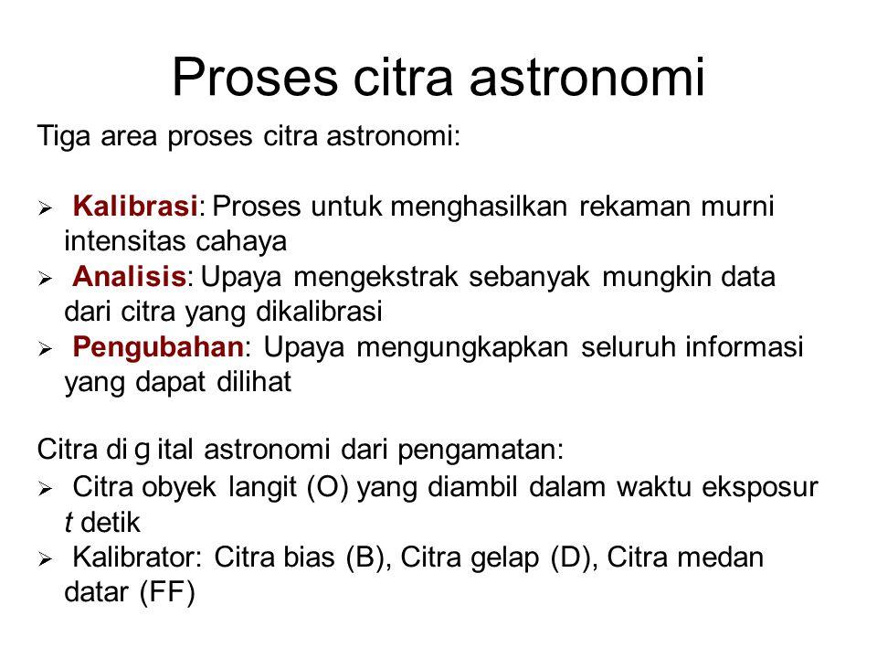 Proses citra astronomi