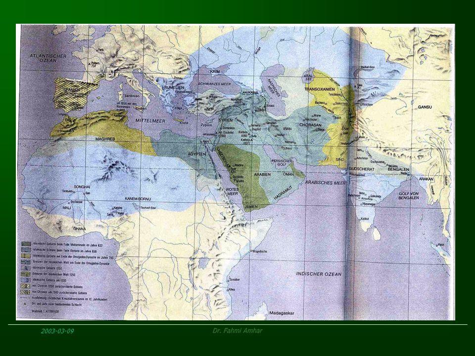 Negara Khilafah Universal bubar - negara-negara nasional bertebar