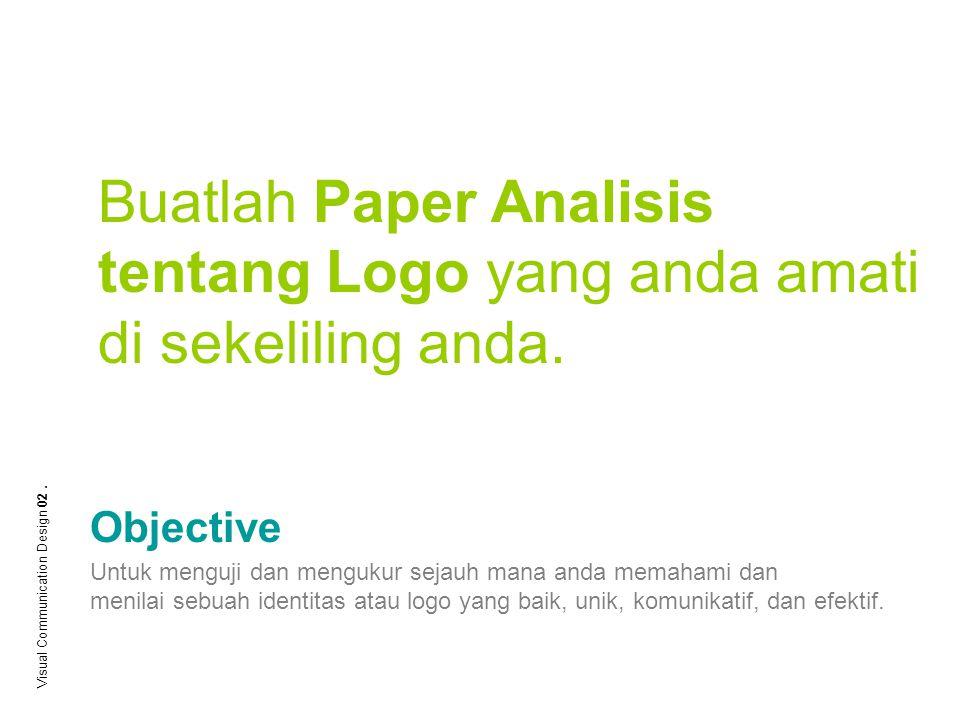 Buatlah Paper Analisis tentang Logo yang anda amati