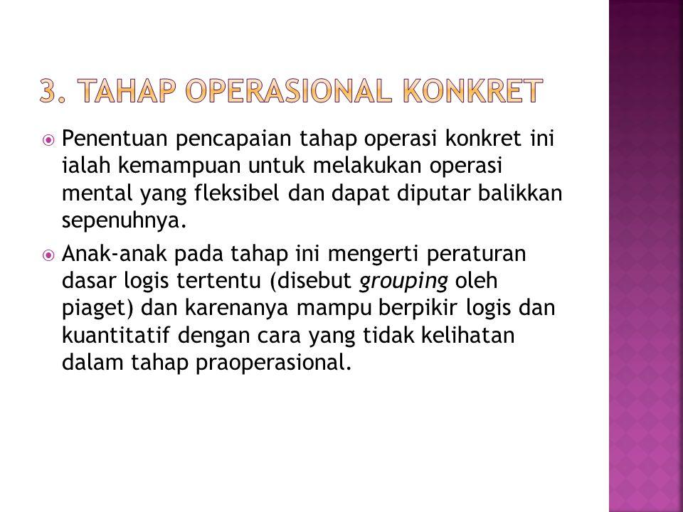 3. Tahap Operasional Konkret