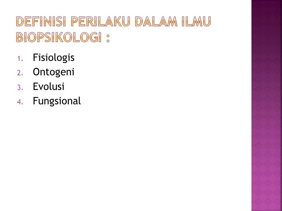 Definisi perilaku dalam ilmu biopsikologi :
