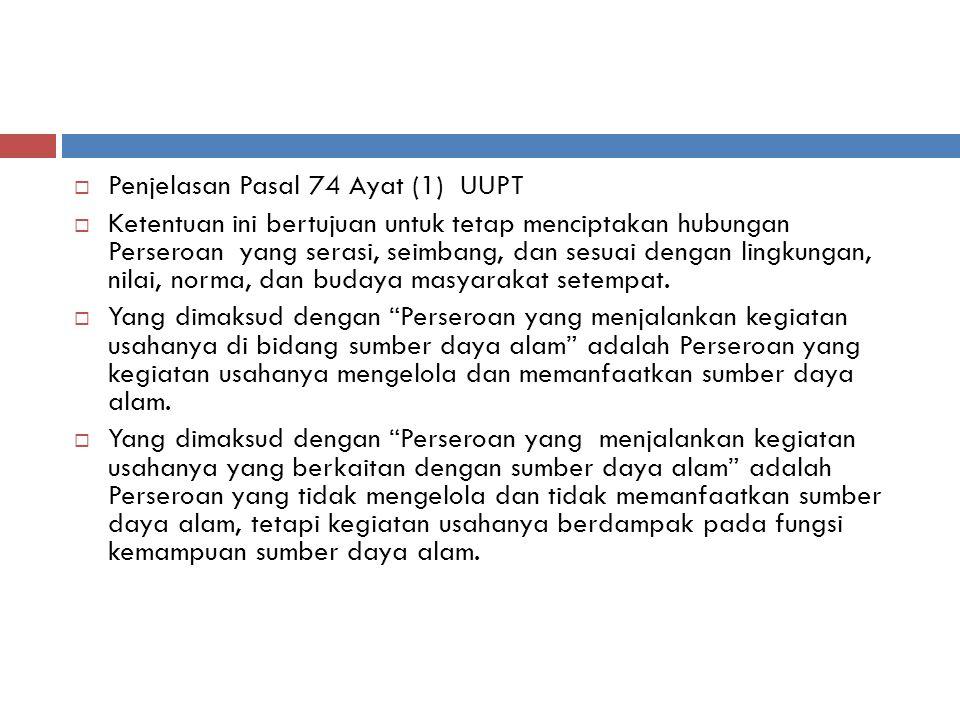 Penjelasan Pasal 74 Ayat (1) UUPT