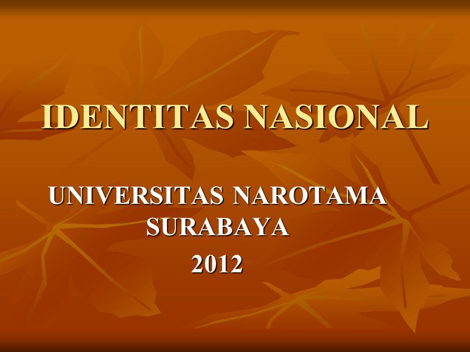 UNIVERSITAS NAROTAMA SURABAYA 2012