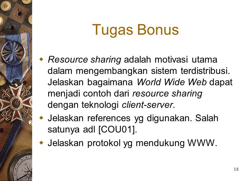 Tugas Bonus